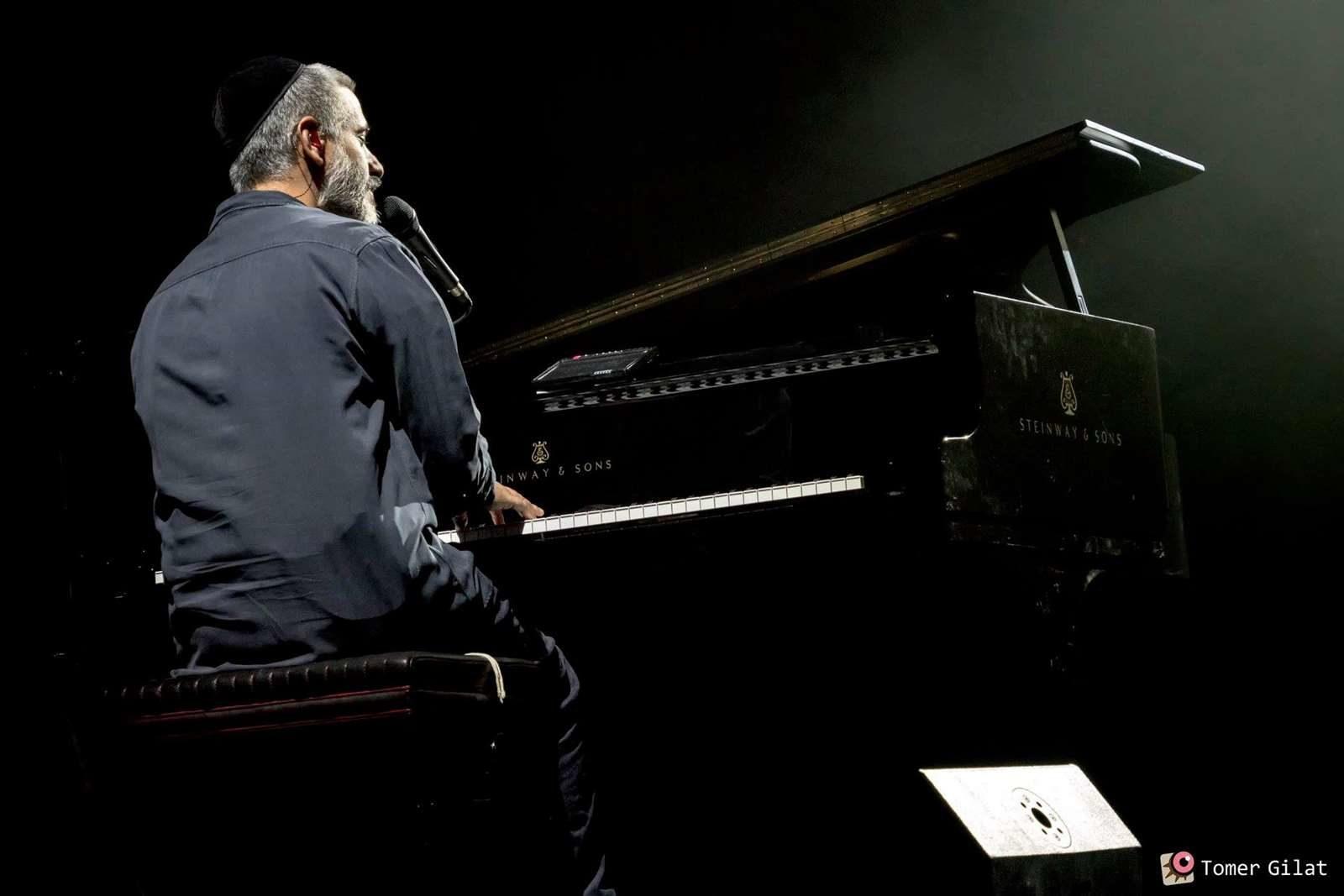 אביתר בנאי, פסטיבל הפסנתר 2018