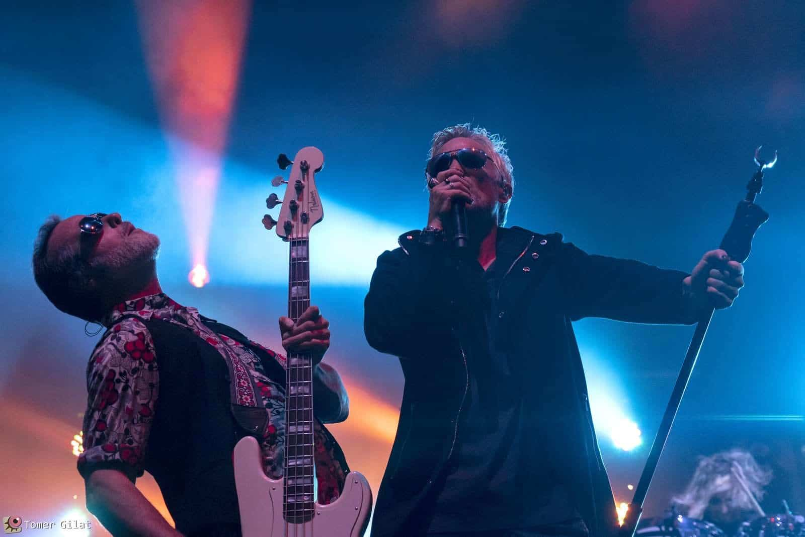 Stone Temple Pilots live in Israel. 2019